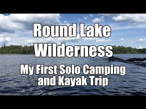 Round Lake Solo Kayak & Camp