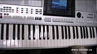 Русский Размер - Ангел Дня игра на синтезаторе