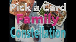 Pick a Card Tarot Reading: What's your Family's (karmic) lesson? | Family Constellation