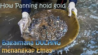 Traditional: Simple way to mine gold | without using modern tools