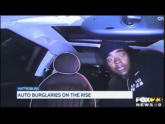 Hattiesburg sees rise in auto burglaries