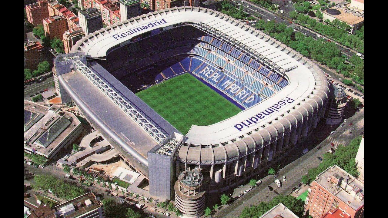Fifa 17 santiago bernabeu stadium madrid youtube for Puerta 8 bernabeu