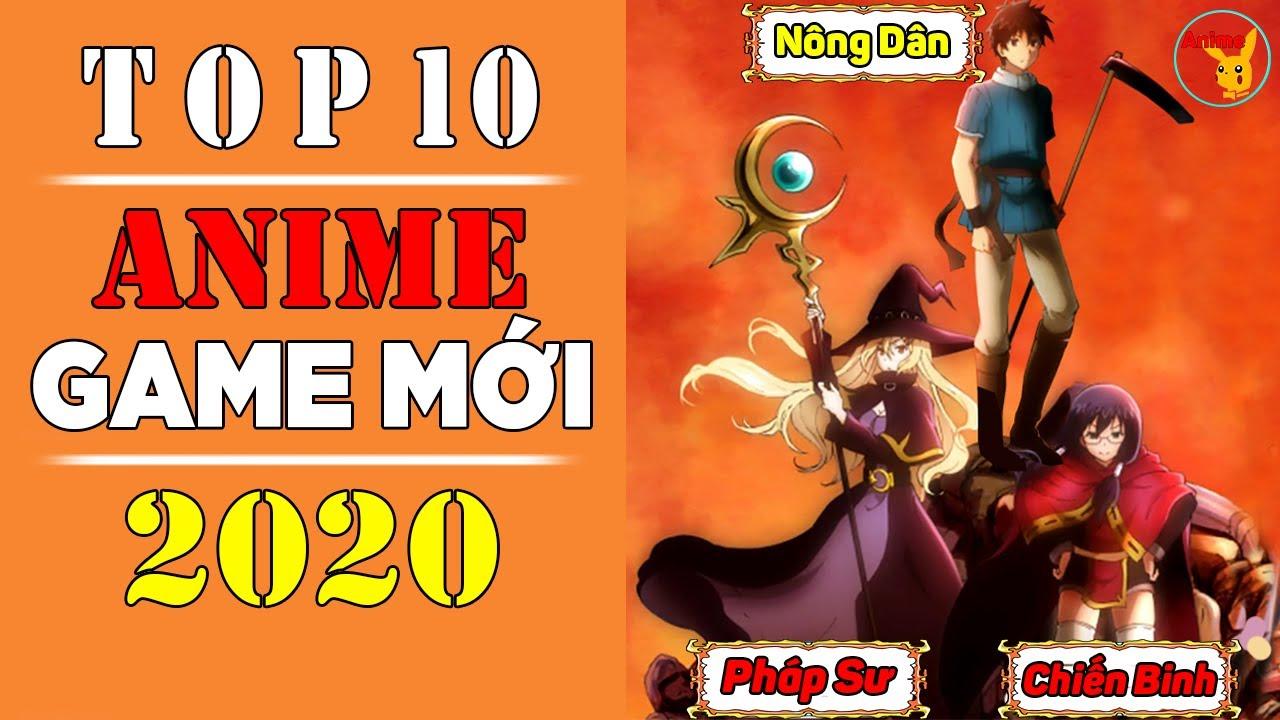 Top 10 Phim Anime Game Cực Hay Mới Ra Mắt Vào Năm 2020