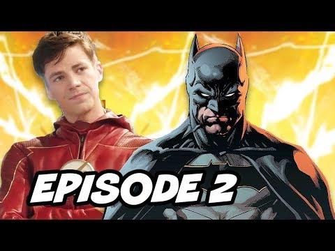 The Flash Seas 4 Episode 2 Promo  Batman Easter Eggs Breakdown