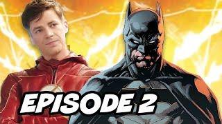 The Flash Season 4 Episode 2 Promo - Batman Easter Eggs Breakdown