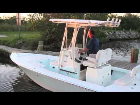 Pathfinder 2300 HPS Bay Boat Walk Through