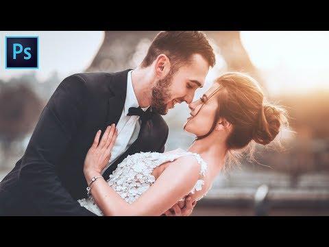 Photoshop CC Tutorial: Wedding Photo Edit
