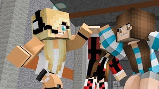 NEW MINECRAFT SONG! 'Girlfriends' Nemesis Part 4  Spiderman, Psycho Girl, Iron Man and Batman!