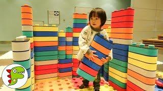 おでかけ 静岡科学館へ行ったよ!ブロックで遊ぼう! トイキッズ thumbnail