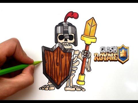 Dessin Garde Royale Clash Royale Youtube