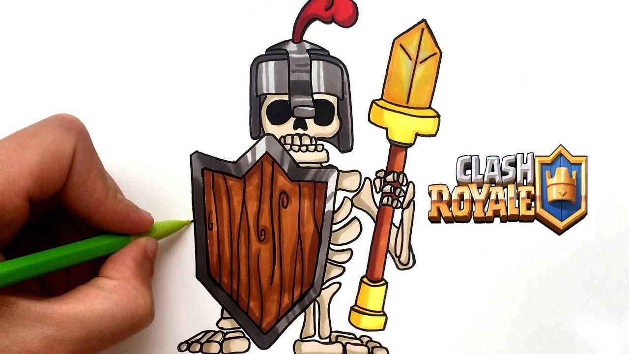 Draw Royal Guard Clash Royale