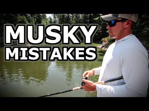 3 BIG Mistakes MUSKY Fishermen Make (Surprisingly Often...)