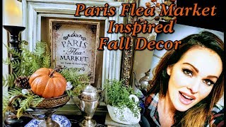 Paris Flea Market Inspired Fall Décor for Autumn