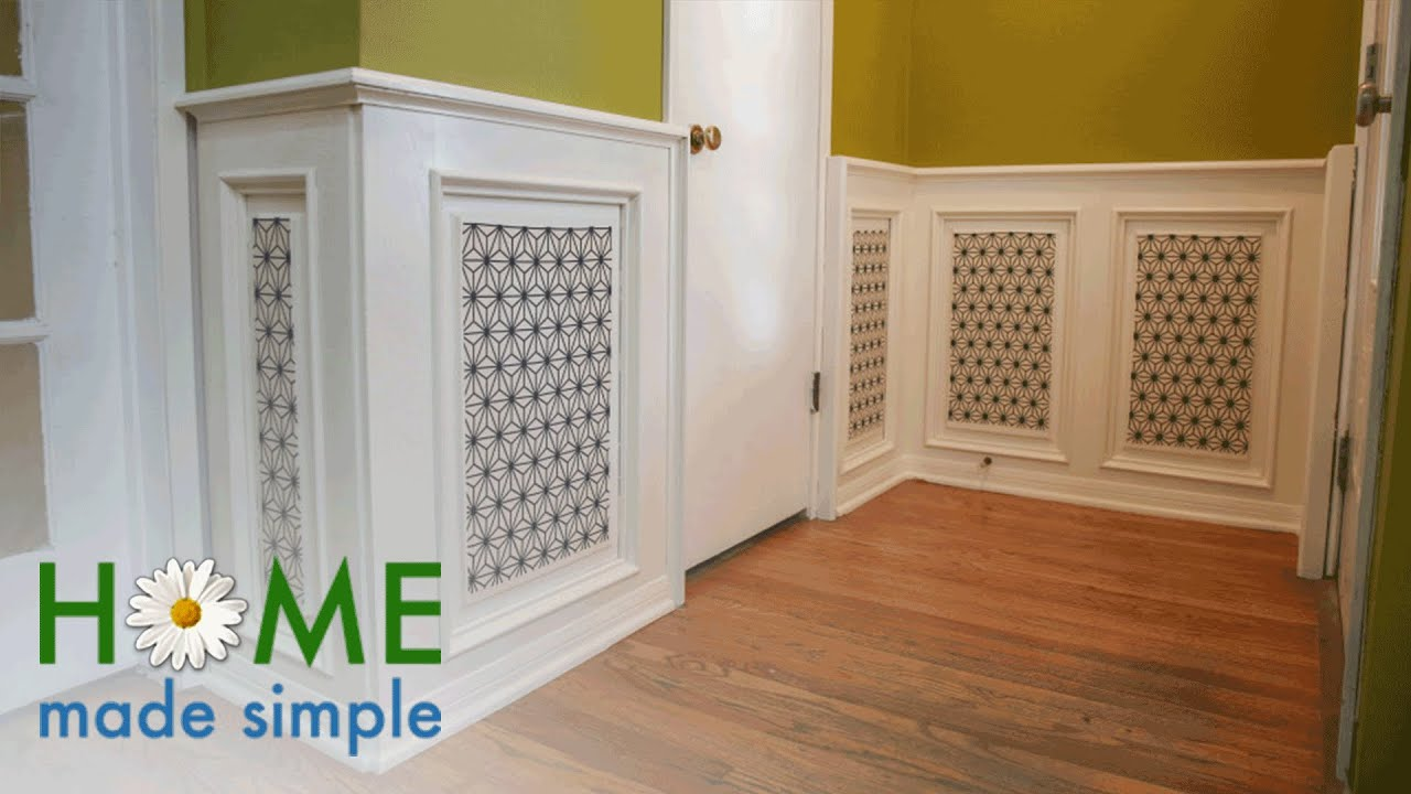 How To Make Paneled Walls Pop | Home Made Simple | Oprah Winfrey Network