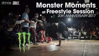 MONSTER MOMENTS at Freestyle Session 20th Anniversary 2017!!!!!