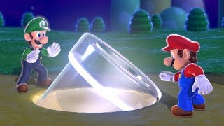 Super Mario 3D World Co-Op Walkthrough - World 1 (2 Player)