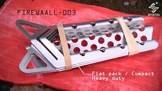 Made in canada fire heating tool FIREWAALL-003 by Sportes Inc thumbnail