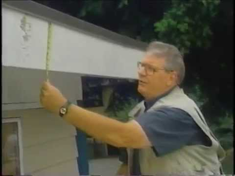 How To Repair An Aluminum Fascia Cover Youtube