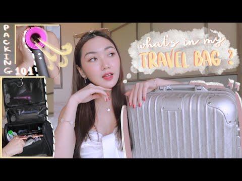 Có gì trong vali du lịch của Chloe? What's in my travel bag + packing tips | Chloe Nguyen