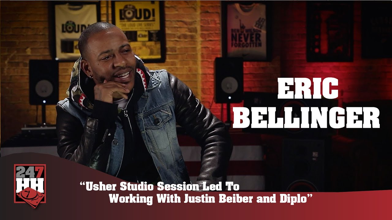 Eric Bellinger -Studio Session With Usher Led To Working With Justin Bieber & Diplo(247HH Exclus