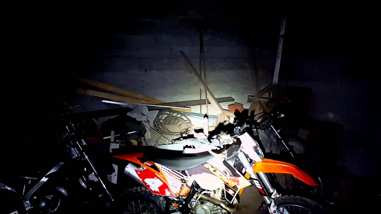 Eclairage Led Moto Eclairage Led Moto Enduro Cross Quad Vélo Vtt Youtube