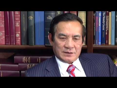 Ernest Bower Interviews Vietnamese Ambassador to the US Le Cong Phung