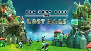 ROBLOX 2017 Easter Egg Hunt Part 5 EBR Super Easter Egg Obtained!