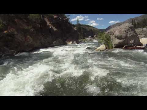 Bronco Billy rapid on the Truckee River