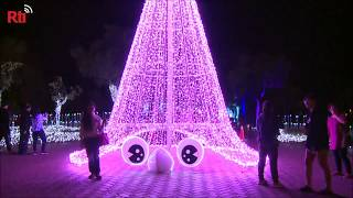 Yilan Christmas light festival extended to Chinese New Year holiday
