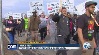 two more inkster police officers suspended following beating of floyd dent