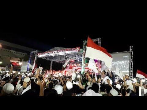 !!Merinding!! Kedatangan Habib Mahdi Di Acara Jawa Barat BerSholawat 05 Mei 2018