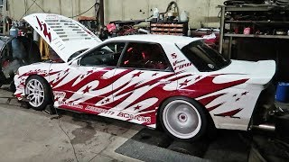 The Quest For 600hp - R32 Drift Car
