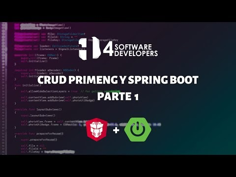 Consumiendo CRUD API Rest Angular - PrimeNG Parte 1 | 4SoftwareDevelopers thumbnail