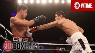 Shohjahon Ergashev's Devastating Body Shot KO of Adrian Estrella | SHOBOX: THE NEW GENERATION