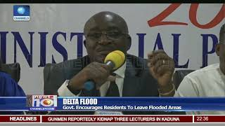 Delta Flood Govt. Encourages Residents To Leave Flooded Areas