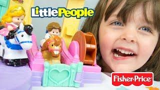 Disney Princess Klip Klop Little People Belle's Cottage Disney Princess Toys