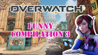 Overwatch Funny Moments Compilation 3| Genice Plays Games