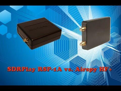 SDRPlay RSP-1A vs. Airspy HF+ on Shortwave and Medium Wave