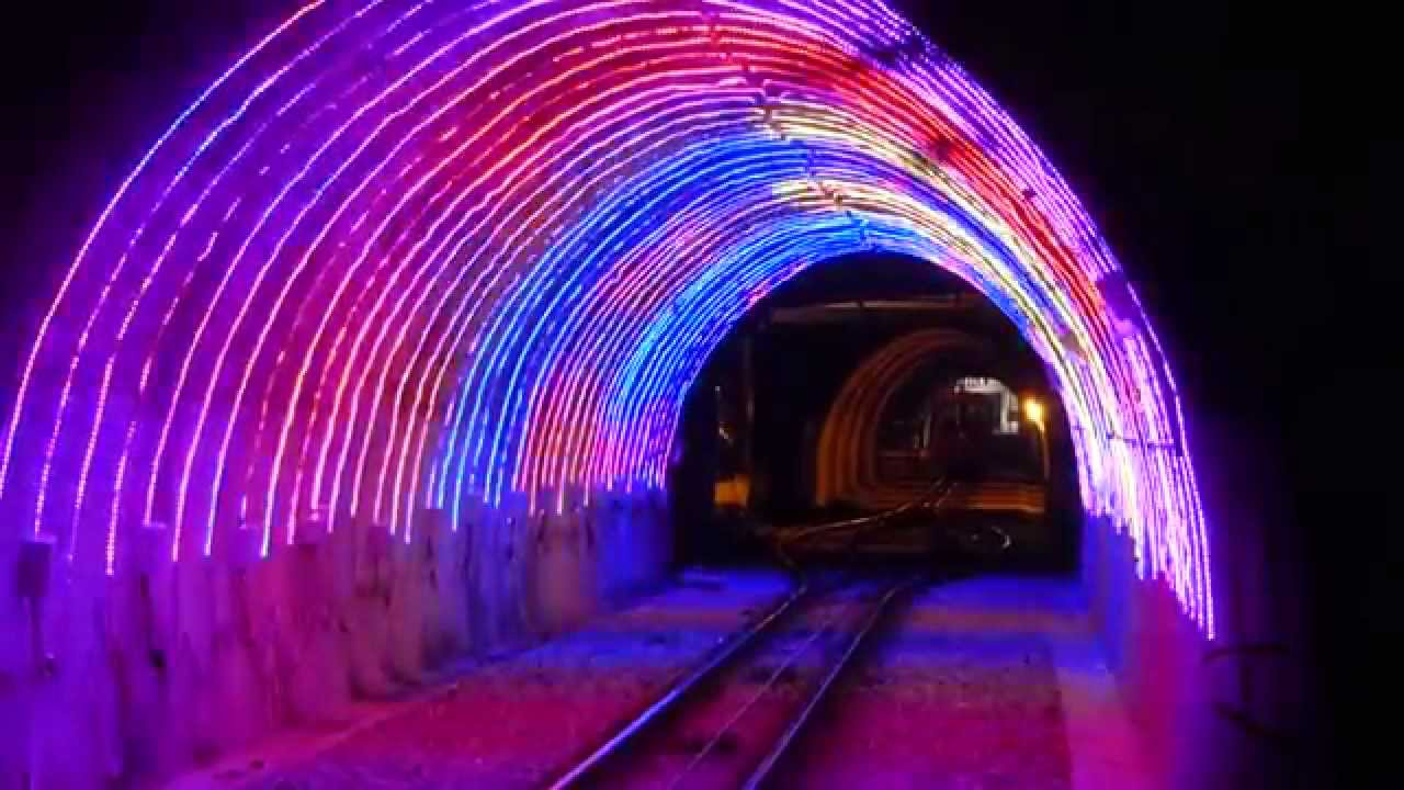 Contact Energy Lights Up Wellington S Cable Car Tunnel