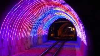Contact Energy lights up Wellington's cable car tunnel