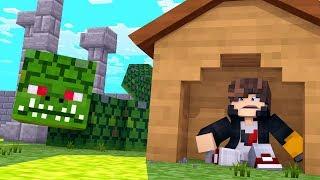Minecraft: DESAFIO DA BASE 100% SEGURA CONTRA COBRA GIGANTE  ‹ JUAUM ›