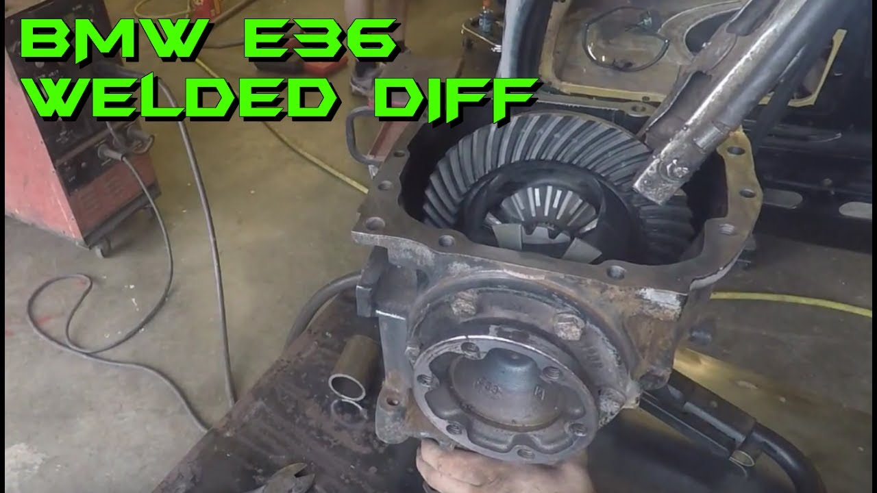 welding the diff on the e36 bmw drift car youtube. Black Bedroom Furniture Sets. Home Design Ideas