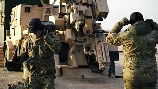 Ny artillerikanon brager løs på Vejers Strand