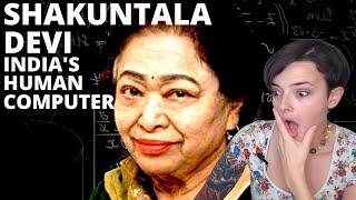 India's Human Computer??? Shakuntala Devi | Reaction!