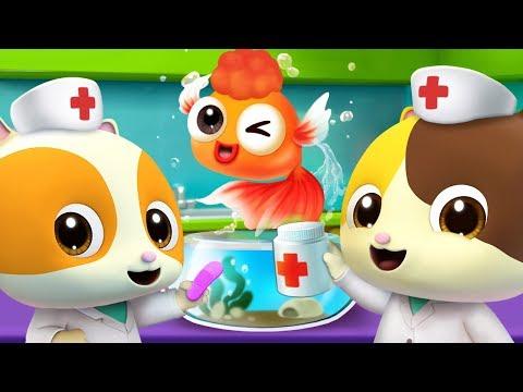 Sick Song - Doctor Mimi  | Doctor Cartoon, Jobs Song | Nursery Rhymes | Kids Songs | BabyBus