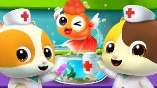 Doctor Mimi Saves Goldfish | Doctor Cartoon, Jobs Song | Nursery Rhymes | Kids Songs | BabyBus