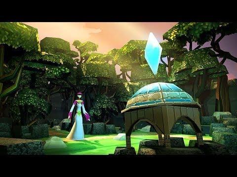 Roterra - Flip the Fairytale - Level 1-5 - iOS Walkthrough Gameplay