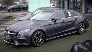 Осмотр Mercedes Benz CLS400