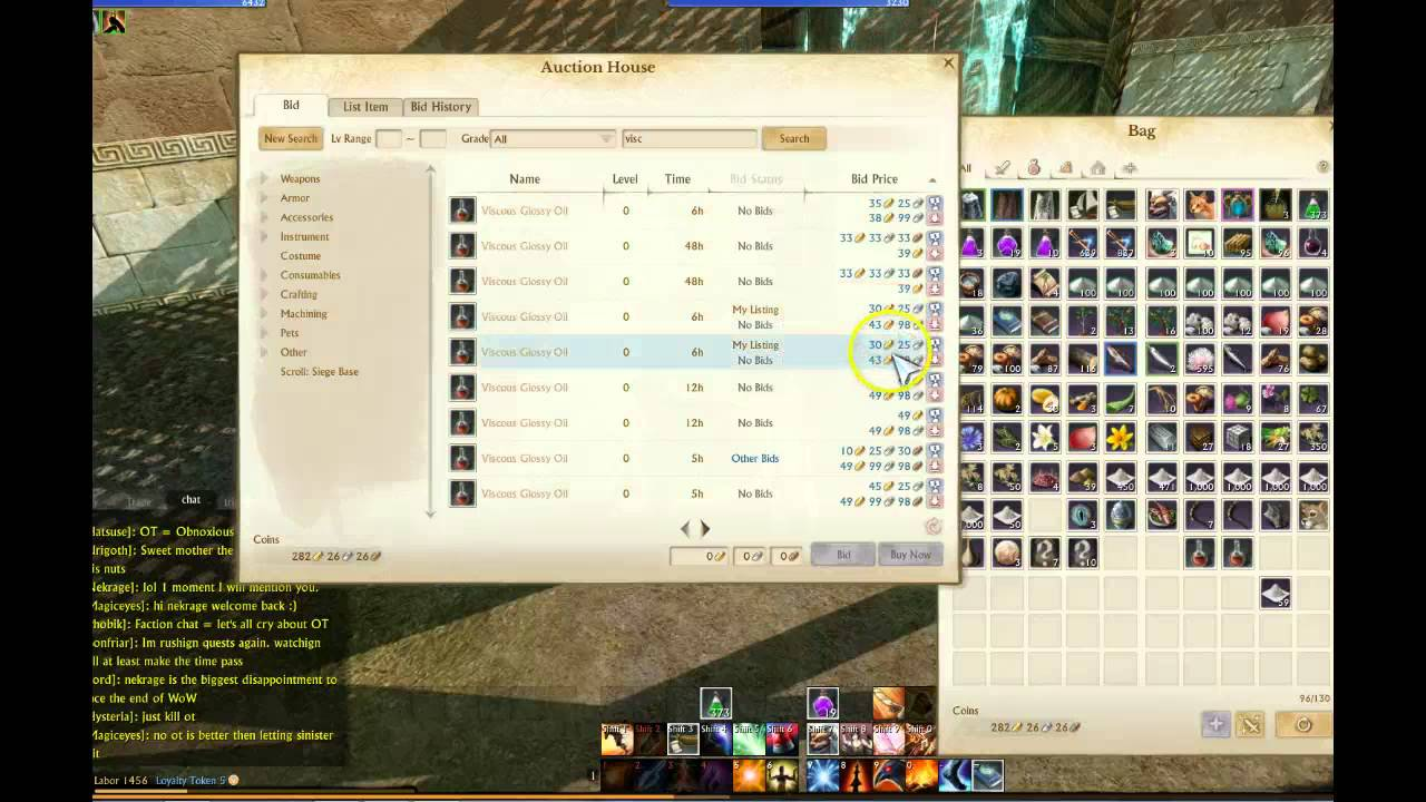 Archeage online Guide making money auction house - YouTube