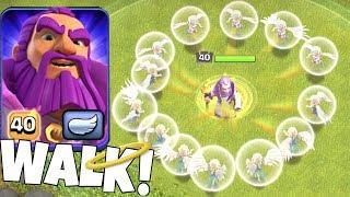 "LVL 40 GRAND WARDEN WALK! ""Clash Of Clans"" Immortal Attack!!"